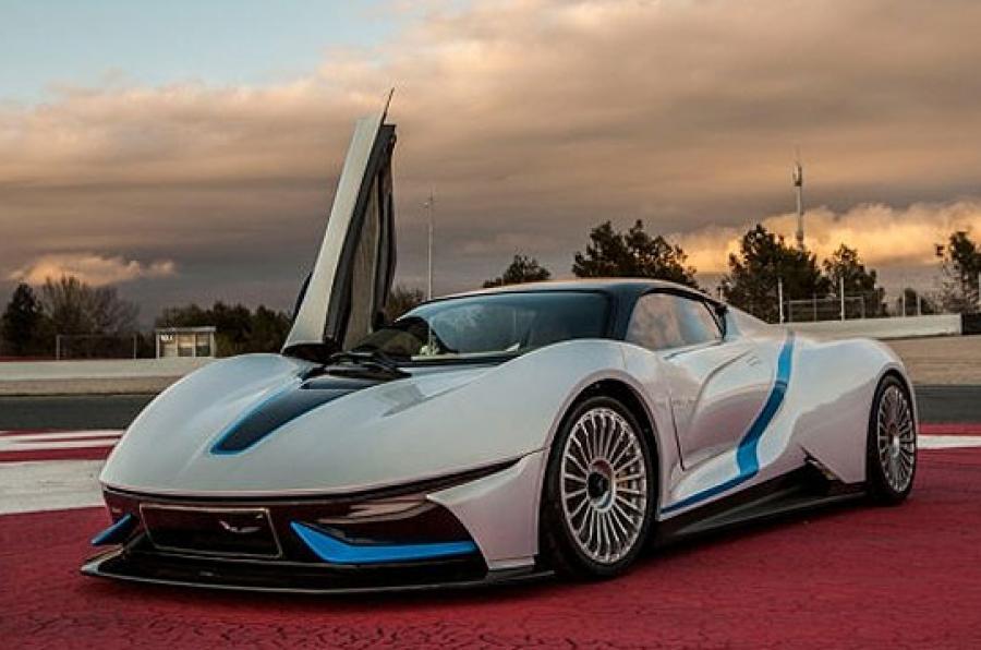 ¡Filtrado! Así será el superdeportivo de BAIC: ¿Una especie de BMW i8 'made in China'?
