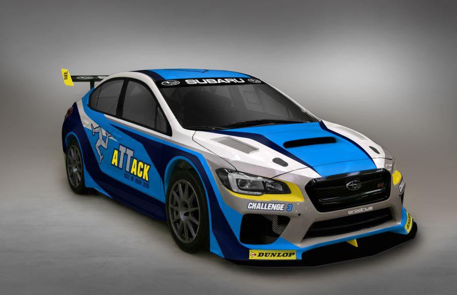 Así es el Subaru WRX STI time attack que quiere arrasar en la Isla de Man TT Course Road