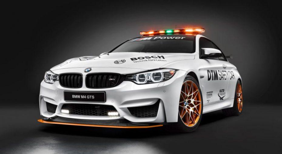 El salvaje BMW M4 GTS se viste de Safety Car de la DTM y este es el resultado…
