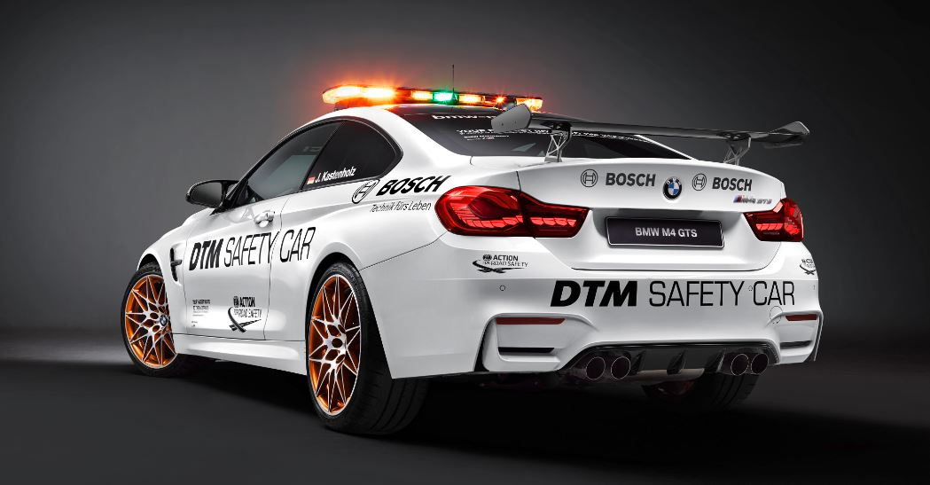 bmw m4 gts safety car 2