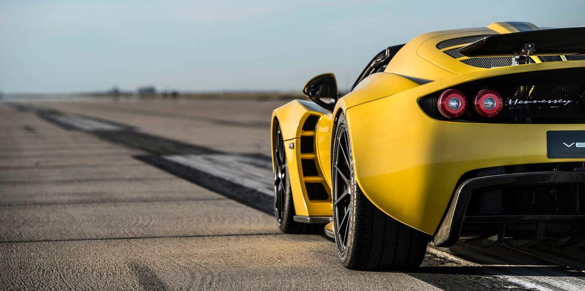 Así es el Hennessey Venom GT Spyder, el modelo que le ha dado la patada al Bugatti Veyron en el récord de velocidad a cielo abierto…