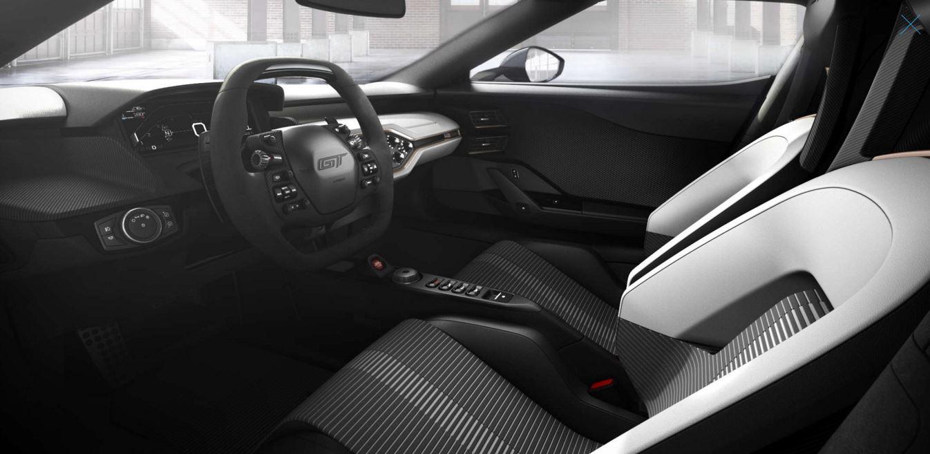interior ford gt