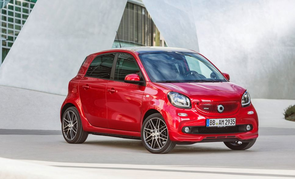 smart forfour brabus 8