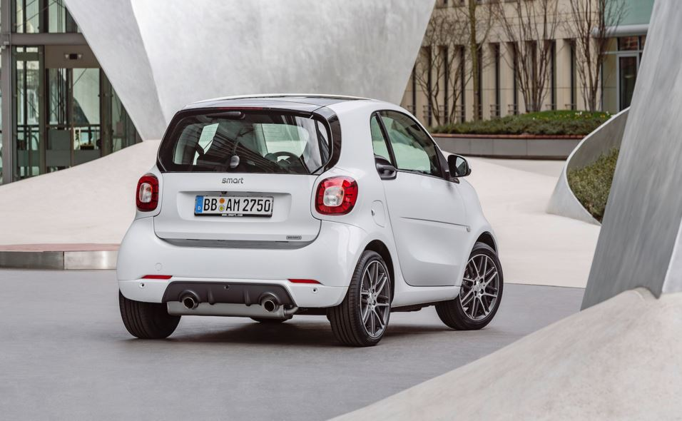 smart fortwo brabus 5