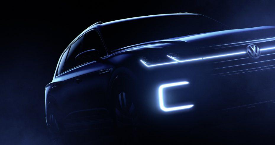Volkswagen presentará en Pekín un SUV conceptual: Adelanta las formas del nuevo Touareg