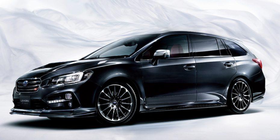 Aquí esta el Subaru Levorg STI Sport con hasta 300 CV de potencia