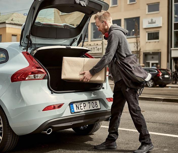 ¡Buena idea!: ¿Convertir el maletero de tu coche en tu buzón de correos cuando no estás en casa?