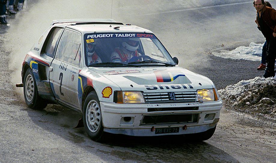 A subasta el mítico Peugeot 205 Turbo 16 Evolution 1 Group B de 1984 que pilotó Ari Vatanen
