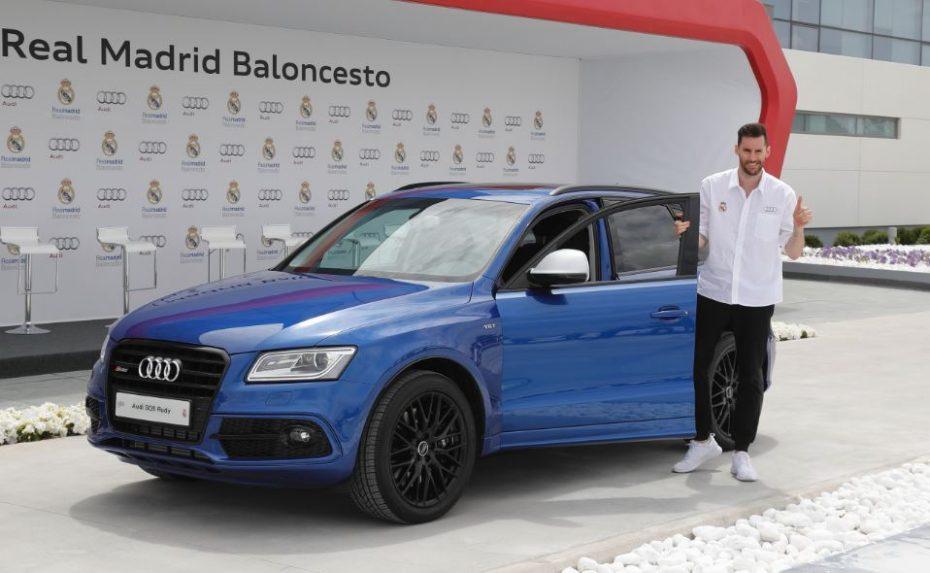 """Algunos de los """"tíos más grandes"""" del deporte español han recibido hoy sus coches de la mano de Audi"""