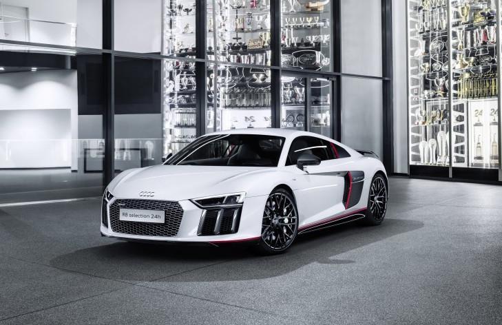 """Audi R8 Coupé V10 plus """"Selection 24h"""": El Audi de producción más rápido de todos los tiempos"""