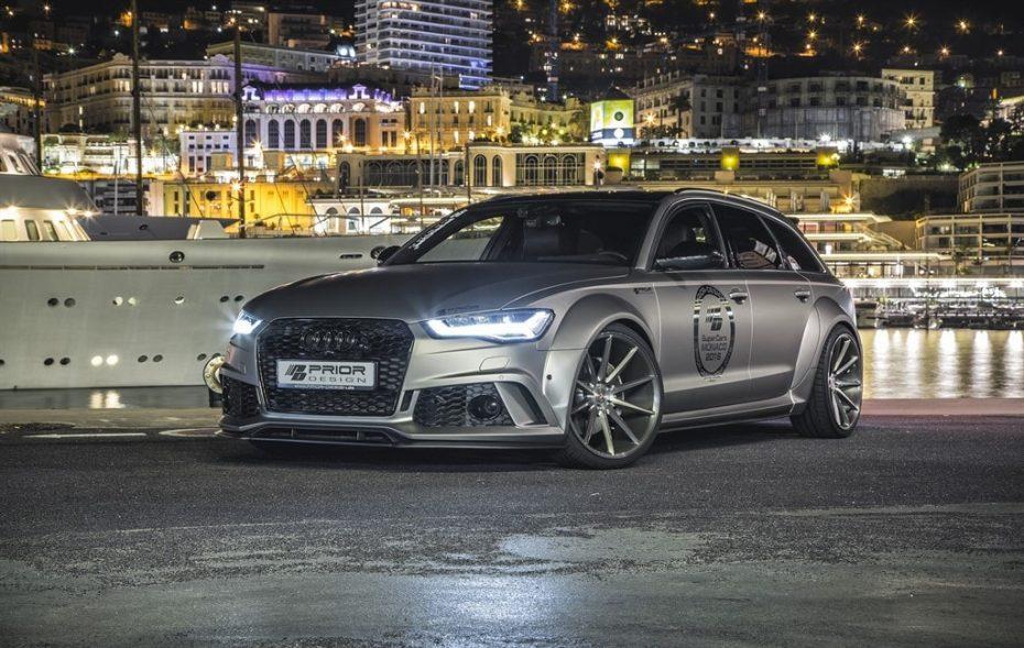 Rey de reyes: Así de salvaje luce palmito el último Audi RS6 de Prior Design