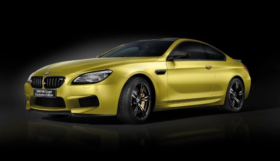 BMW M6 Celebration Edition: Competition Package + M Driver's Package = 600 CV para 13 unidades…