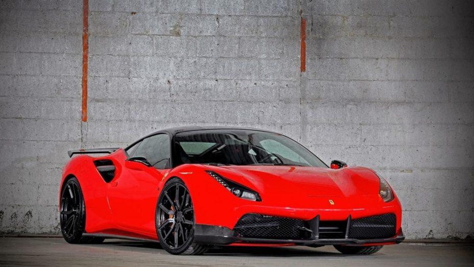 ¡Hasta 887 CV! VOS quiere un Ferrari 488 GTB discreto por fuera pero salvaje por dentro