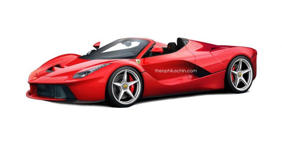 Aún no conocemos el Ferrari LaFerrari Spider ¡Pero en Alemania ya hay uno a la venta!
