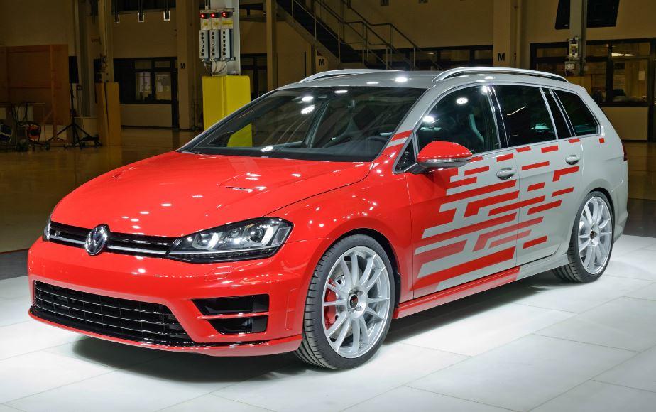 Golf R Variant Performance 35: Los aprendices de Volkswagen se atreven con un familiar de armas tomar