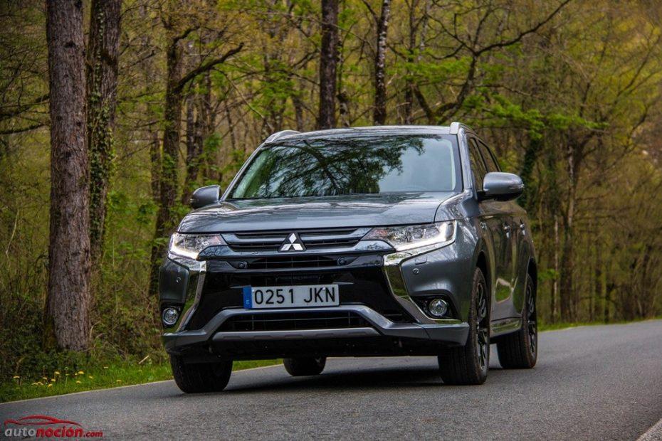 Prueba Mitsubishi Outlander PHEV: Espacio, refinamiento y consumos ajustados a precio razonable