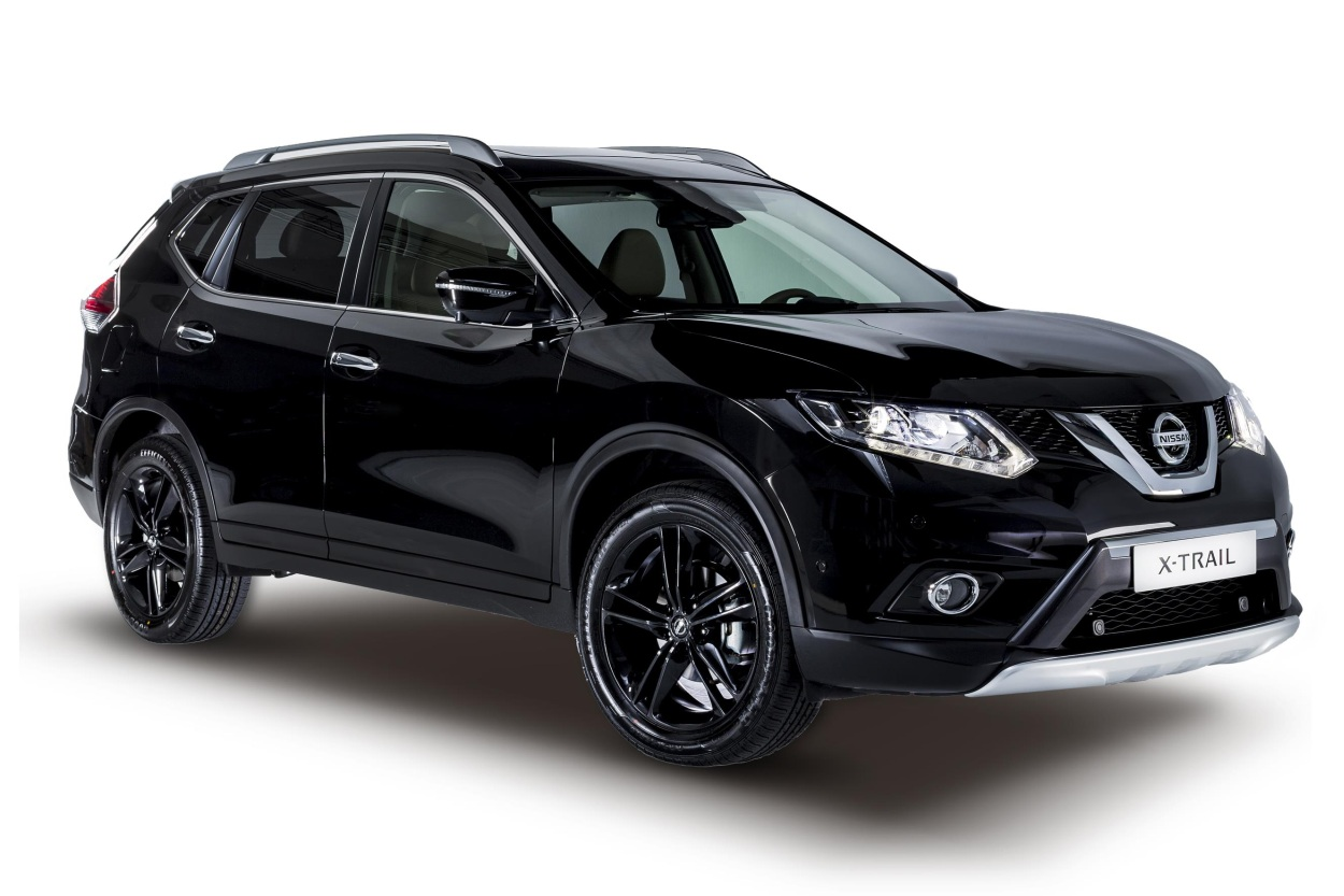 nissan lanza los qashqai y x trail black edition un toque m s din mico. Black Bedroom Furniture Sets. Home Design Ideas