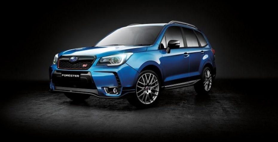 Subaru Forester tS: Los SUV de 240 CV con piezas de STI seguro que sí que te gustan…