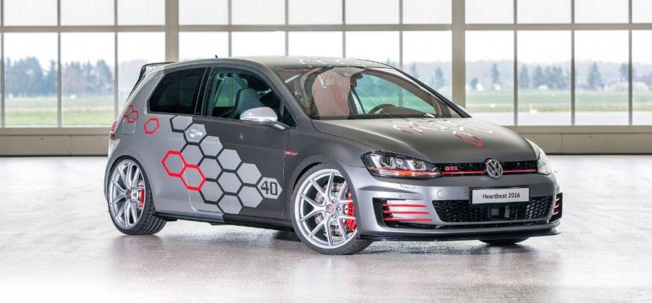 Golf GTI Heartbeat: 400 CV para un GTI creado por los aprendices de Volkswagen
