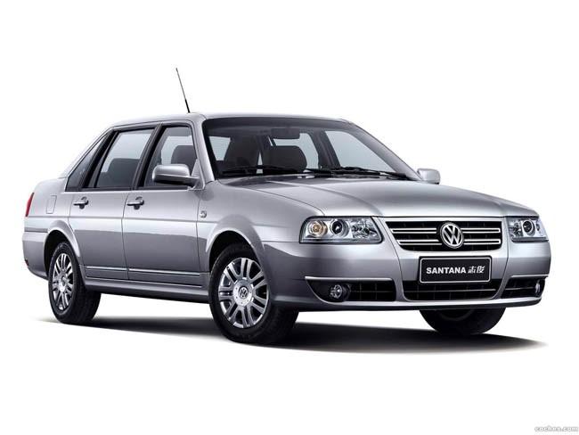 Volkswagen Santana en China