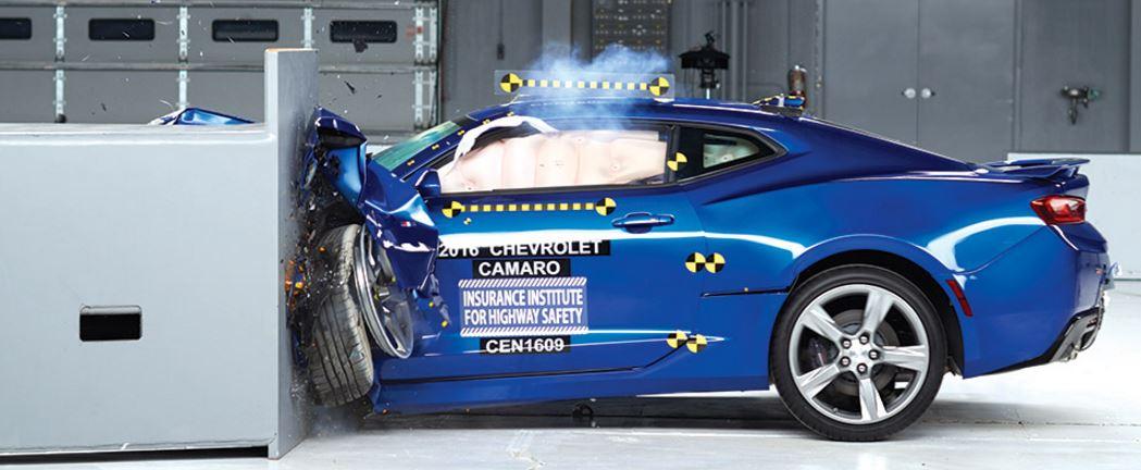 camaro crash test