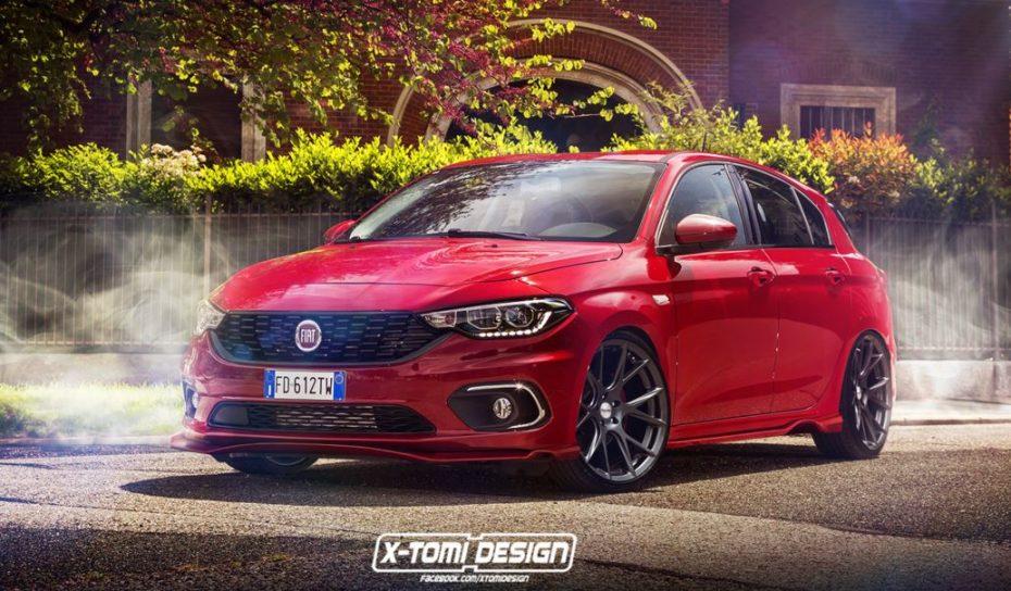 ¿Y si hablásemos de una variante deportiva para el Fiat Tipo?: Estéticamente estaría muy bien…