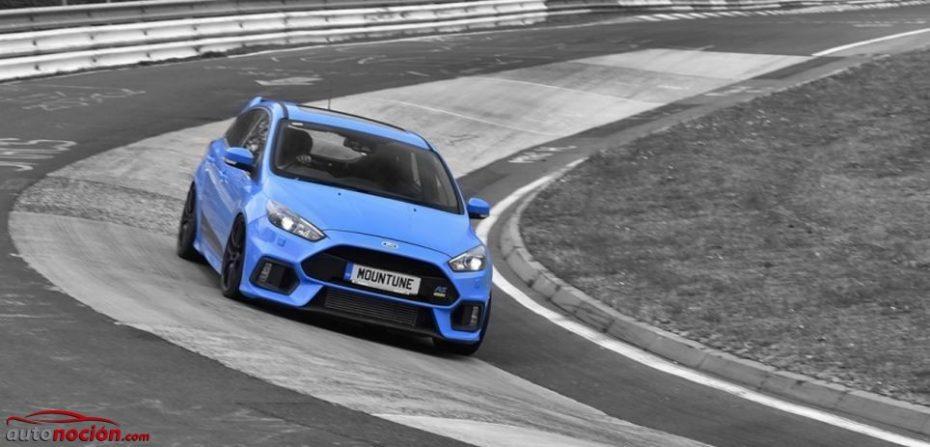 Mountune le mete mano al Ford Focus RS: 12,7 kg menos, más potencia y mejor sonido para el Stage 1