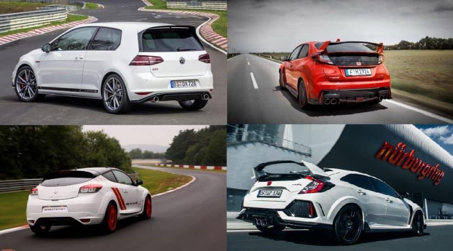 Estos son los 5 compactos tracción delantera más rápidos de Nürburgring: ¿Con cuál te quedas?