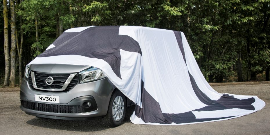 Todo listo para la presentación del Nissan NV300: Gemelo del Trafic, Vivaro y Talento