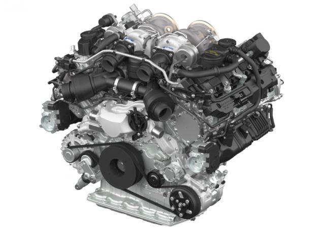 Así es el nuevo motor V8 biturbo de Porsche: ¿El fin de los «grandes V8 alemanes?