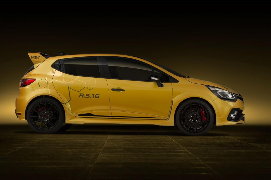 Despídete del Renault Clio RS16 con el que todos soñamos: Nunca llegará a producción