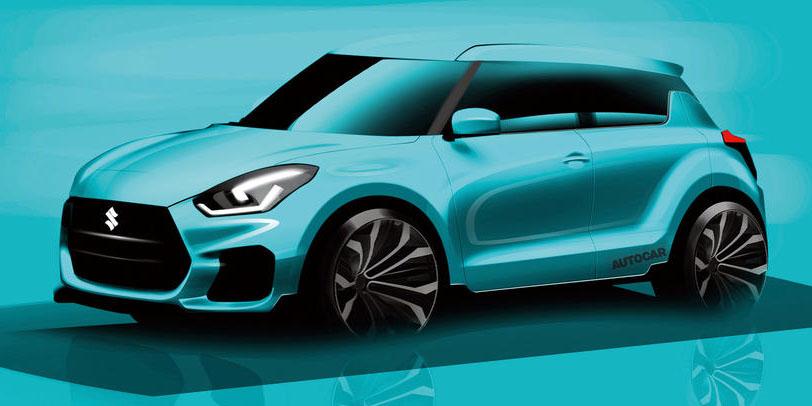 El próximo Suzuki Swift Sport llevará un motor turbo: Su peso podría ser inferior a la tonelada