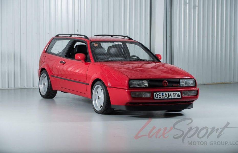 ¿Estás seguro de que conoces a esta extraña versión del Volkswagen Corrado?: Ojo al Volkswagen Corrado Magnum Kombi…