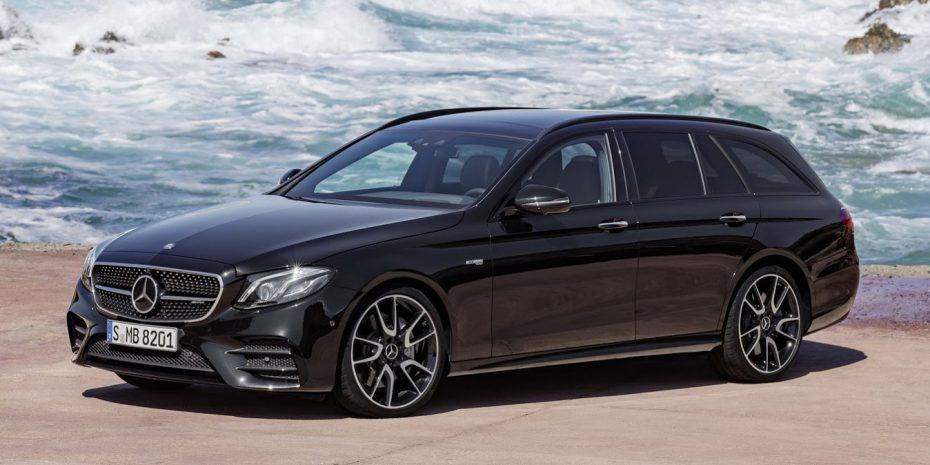 Primeras imágenes oficiales del nuevo Mercedes Clase E Estate: Hasta 401 CV para el práctico familiar