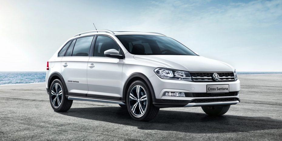 El VW Cross Santana es el Spaceback que jamás podrás comprar en Europa