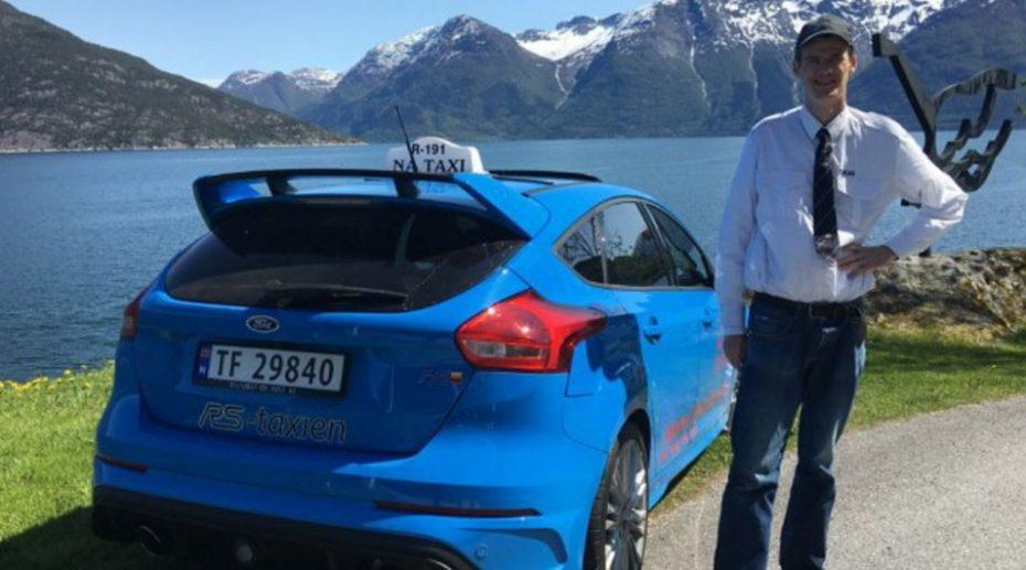 Este taxi sí que mola: Es un Ford Focus RS y está en Noruega