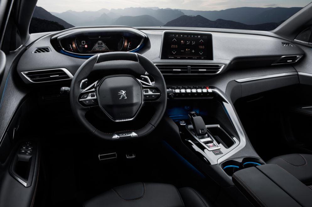 Interior Peugeot 3008 GT