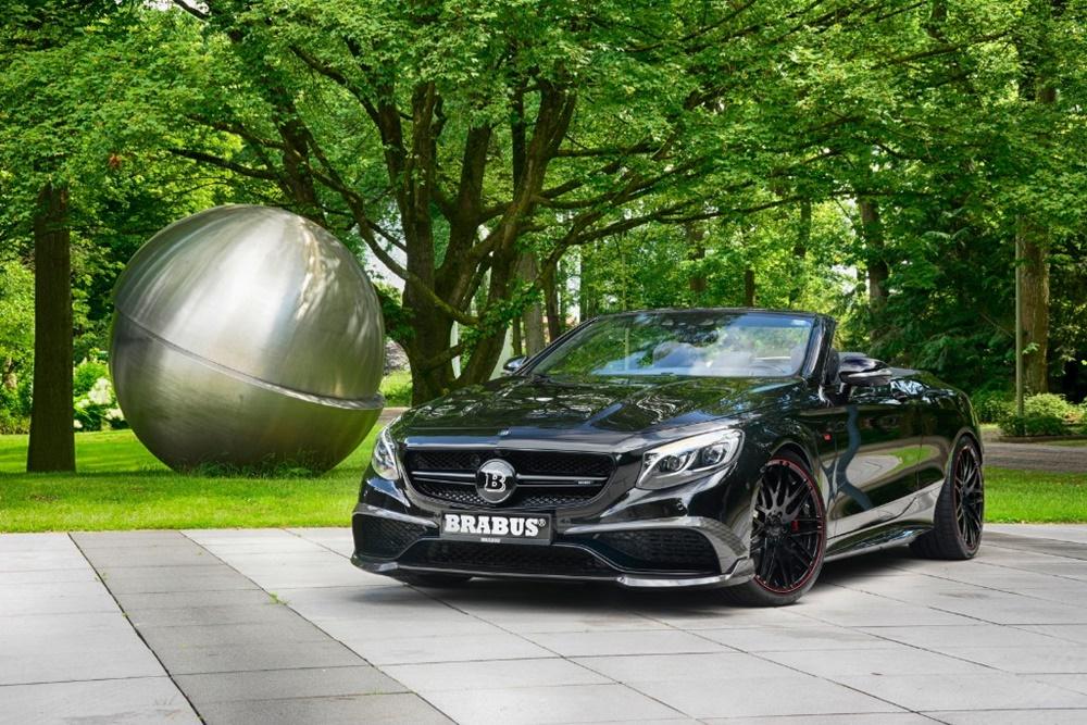 Ojo a este salvaje Mercedes-AMG S 63 Cabrio: 850 CV para el último caballero oscuro de BRABUS