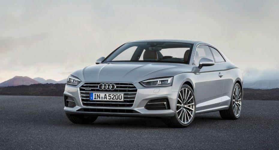 ¡Oficial!: Así es el nuevo Audi A5 Coupé, ¿no es simplemente espectacular?