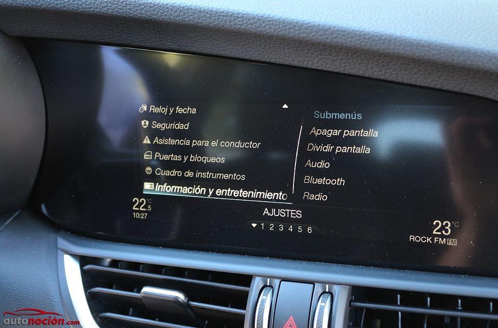 Prueba Alfa Romeo Giulia 11