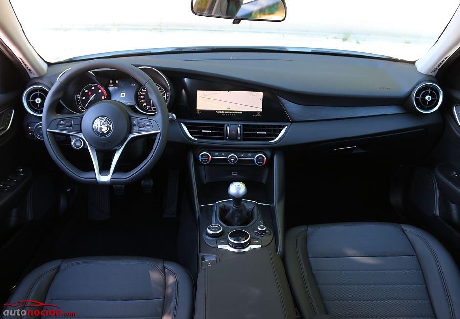 Prueba Alfa Romeo Giulia 17