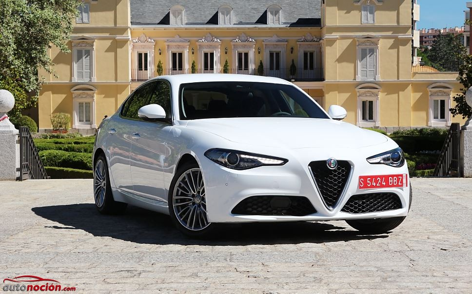 Prueba Alfa Romeo Giulia 63