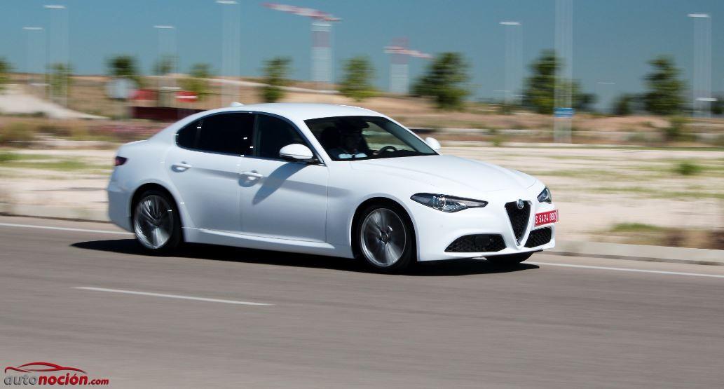 Contacto Alfa Romeo Giulia Super 2.2 JTDM 180 CV: Alfa vuelve al ruedo y ojo, porque pisa fuerte