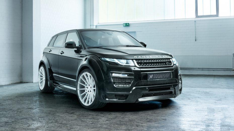 Hamann nos deleita con otra de sus bestias SUV ¡El Range Rover Evoque ahora más salvaje!