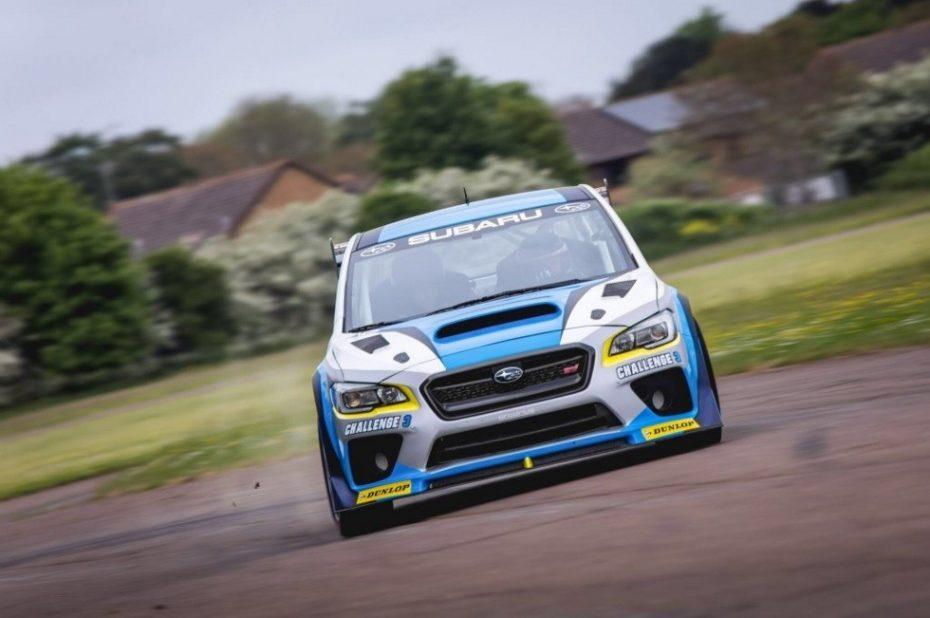 Mark Higgins y el Subaru WRX STI pulverizan su propio récord en la Isla de Man a más de 200 km/h