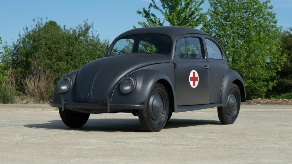 """Este Escarabajo entraña una gran historia pero, ¿pagarías 270.000 euros por """"el coche del pueblo""""?"""