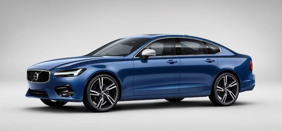 Volvo nos muestra los S90 y V90 R Design: Ajustes deportivos y… ¡vaya asientos!