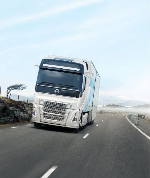 aerodinámica camión volvo 1