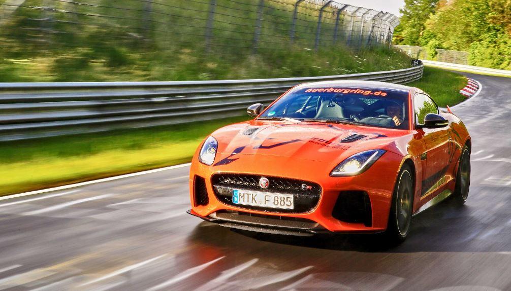 svr jaguar nurburgring
