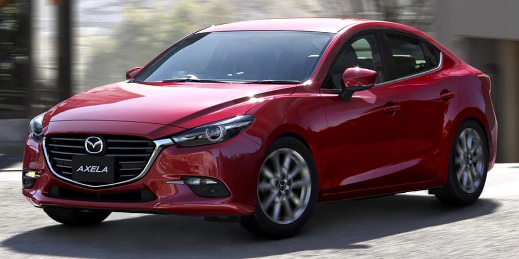 Aquí está el ligero lavado de cara del Mazda3: De momento para Japón
